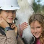Hand-led pony rides for farmstay guests