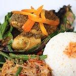Ayam Betutu (signature food)