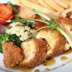Chicken Cordon Bleu (signature food)