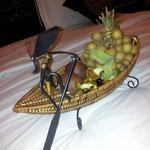 Приветственные фрукты