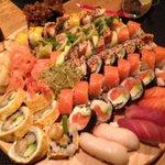 Fantastic plate of sushi