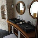 The hald outdoor bathroom