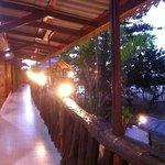 Balcony of AC rooms