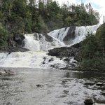 water falls close to the B&B