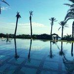 Piscine suite presidentiel hotel hasdrubal yasmin hammamet