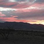 Sunrise over the Peloncillo Mountains