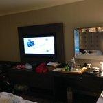Nice big flat screen tv