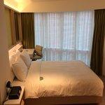 Family room - bedroom one - queen bed