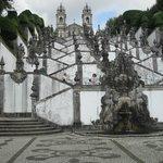 Escadaria do Santuário Bom Jesus do Monte
