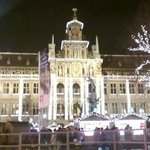 Stadhuis bij avond