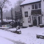 snowy little mill