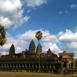 Angkor Wat Is the treasures of Cambodian.