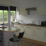 This is the kitchen area