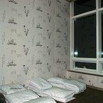 Comfortable and clean room as shown in guesthouse website