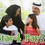 STAY 4 PAY 3