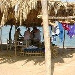 Workshop on the beach
