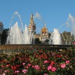 площадь Каталуния рядом с отелем