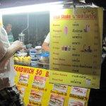 the same pancake n fruit shake stall
