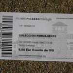 My Souvenir admission ticket ;)
