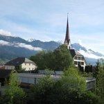 Утренний вид на Альпы_3