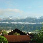 Утренний вид на Альпы_1