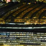 Waterloo Station from London Eye
