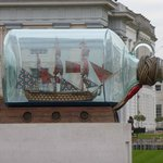Largest Ship in a Bottle...in the World