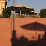 la terrasse vue de la Giralda