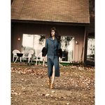 Silver Sands Motel Greenport Cottage lawn photoshoot for Grazia Magazine by Bridget Fleming.