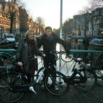 Our Hired Bikes from Sir Albert helped us glide round Amsterdam