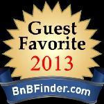Guest Favorite Santa Fe B&B 2013