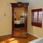 Furniture in bedroom