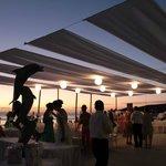 Amplia terraza para eventos especiales