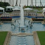 Fountain by the Pool
