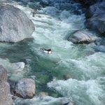Rafting en el Rio El Cangrejal