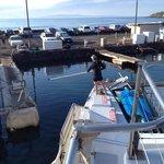 Returning to dock