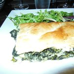 Beautiful spinach pie