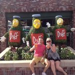 First ever Duff beer