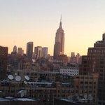 View from Standard Queen Corner Room (12th floor)