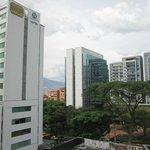 View from room 517 Poblado Plaza