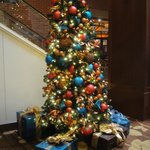 Christmas Tree at the Hyatt