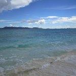 View along horseback ride in Cove Bay