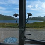 Loch Seaforth from our bedroom window