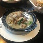 Chicken with taro