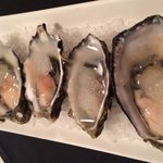 Delicious natural oysters with limoncello dressing. A MUST try! (11.12.2013)