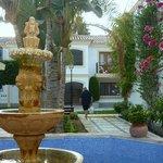 Fountain in the gardens