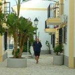 Walking back from the beach...Vera beach apts
