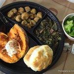 Veg Platter - choice of 4 veg