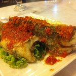 Chilli fried fish (spicy)