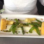 Vegan asparagus variations